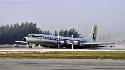 HC-BHS - Canadair CL-44-D1/3/6 - AECA Carga