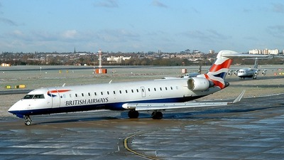 G-MRSI - Bombardier CRJ-701 - British Airways