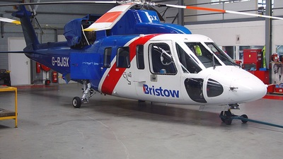 G-BJGX - Sikorsky S-76A - Bristow Helicopters