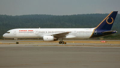 C-GRYO - Boeing 757-236 - Canada 3000 Airlines