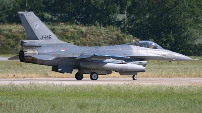 J-145 - General Dynamics F-16AM Fighting Falcon - Netherlands - Royal Air Force