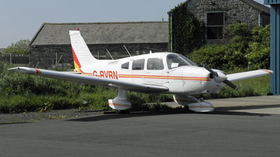 A picture of GRVRN - Piper PA28161 - Ravenair - © D Kelly- IoM Pics