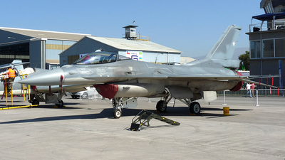 852 - Lockheed Martin F-16CJ Fighting Falcon - Chile - Air Force
