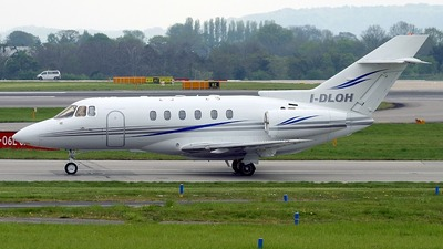 I-DLOH - Raytheon Hawker 800XP - Eurofly Service