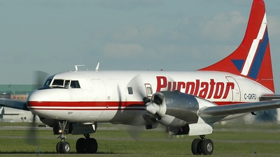 C-GKFU - Convair CV-580 - Purolator Courier (Kelowna Flightcraft Air Charter)
