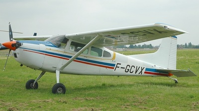 F-GCVX - Cessna A185F Skywagon - Private