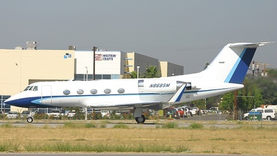 A picture of N868SM - Gulfstream II - [254] - © Ralph Duenas - Jetwash Images