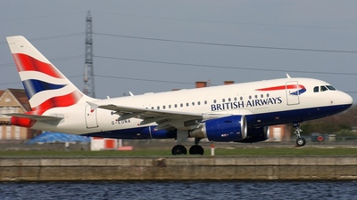 G-EUNA - Airbus A318-112 - British Airways