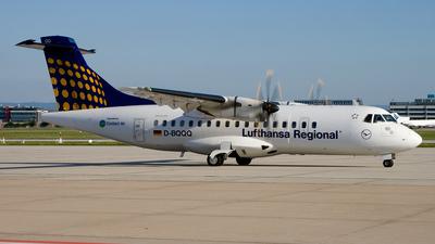 D-BQQQ - ATR 42-500 - Lufthansa Regional (Contact Air)