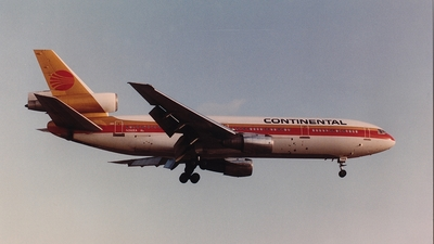 N392EA - McDonnell Douglas DC-10-30 - Continental Airlines