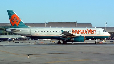 N658AW - Airbus A320-232 - America West Airlines