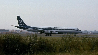 N821F - Douglas DC-8-21 - Overseas National Airways (ONA)