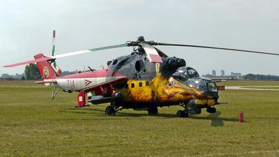 714 - Mil Mi-24V Hind E - Hungary - Air Force
