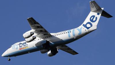 G-JEBA - British Aerospace BAe 146-300 - Flybe