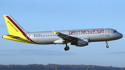 D-AKNX - Airbus A320-212 - Germanwings