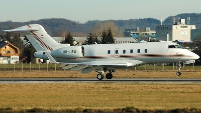 HB-JEU - Bombardier BD-100-1A10 Challenger 300 - ExecuJet Charter