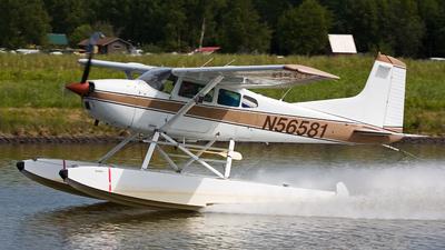 A picture of N56581 - Cessna A185F Skywagon - [18502907] - © René Juncker