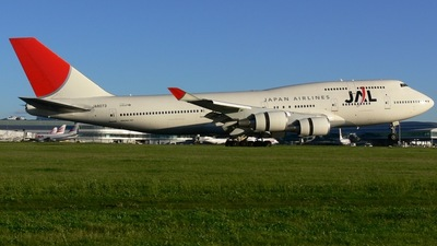 JA8073 - Boeing 747-446 - Japan Airlines (JAL)