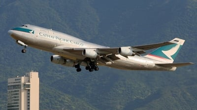 B-HUS - Boeing 747-444(BCF) - Cathay Pacific Cargo