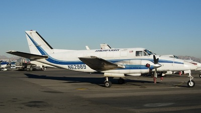 A picture of N62989 - Beech C99 Airliner - Ameriflight - © Sun Valley Aviation