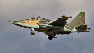 78 - Sukhoi Su-25UB Frogfoot - Russia - Air Force
