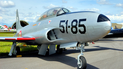 MM55-3080 - Lockheed T-33A Shooting Star - Italy - Air Force