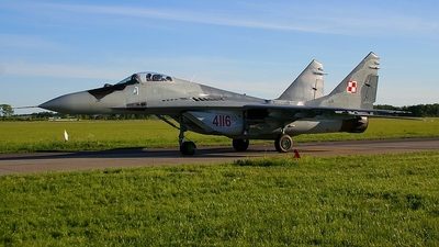 4116 - Mikoyan-Gurevich MiG-29G Fulcrum - Poland - Air Force