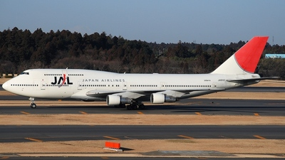JA8163 - Boeing 747-346 - Japan Airlines (JAL)