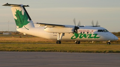C-FGRC - Bombardier Dash 8-102 - Air Canada Jazz