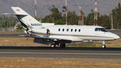 N489VC - Raytheon Hawker 800XP - Private
