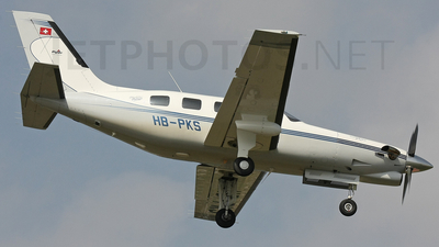 HB-PKS - Piper PA-46-350P Malibu Mirage/Jetprop DLX - Private