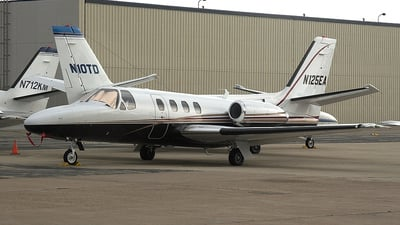 N125EA - Cessna 501 Citation - Private