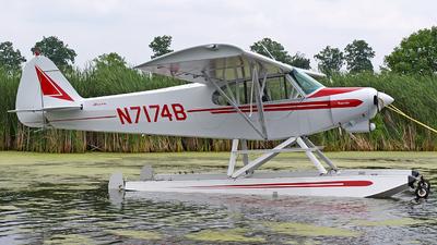 A picture of N7174B - Piper PA18150 Super Cub - [185205] - © Steve Homewood