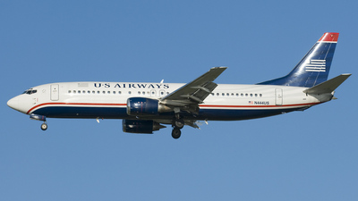 N444US - Boeing 737-4B7 - US Airways