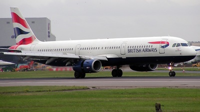 G-TTIA - Airbus A321-231 - British Airways (GB Airways)