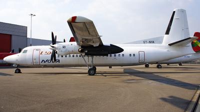 ST-NVA - Fokker 50 - Nova Airways
