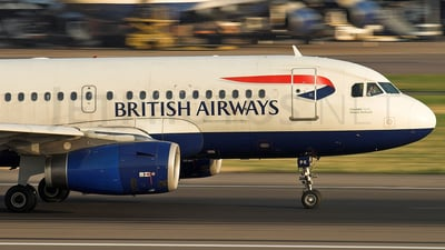 G-EUPK - Airbus A319-131 - British Airways