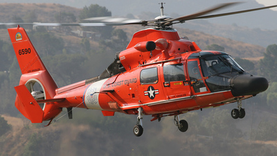 6590 - Aérospatiale HH-65 Dauphin - United States - US Coast Guard (USCG)
