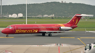 ZS-NRB - McDonnell Douglas DC-9-32 - 1Time Airline