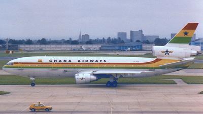 9G-ANA - McDonnell Douglas DC-10-30 - Ghana Airways