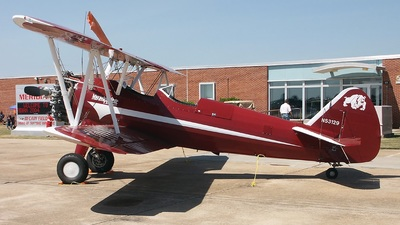 A picture of N53129 - BoeingStearman Model 75 - [751519] - © Paul Robbins - Nashville Aviation Photographers
