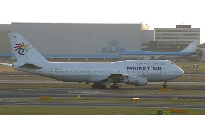 PH-BUU - Boeing 747-306(M) - Phuket Air