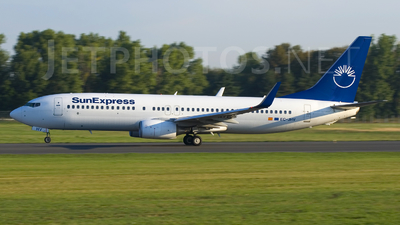 EC-JHV - Boeing 737-8FH - SunExpress (Futura International Airways)