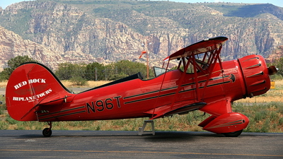 N96T - Waco YMF-5 - Red Rock Biplane Tours