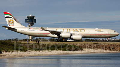 A6-EHA - Airbus A340-541 - Etihad Airways