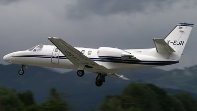 LX-EJH - Cessna 550B Citation Bravo - Homac Aviation