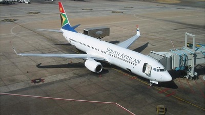 ZS-SJJ - Boeing 737-85F - South African Airways