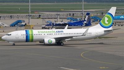 PH-HZY - Boeing 737-8K2 - Transavia Airlines