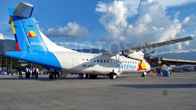 HK-4747 - ATR 42-500 - Satena