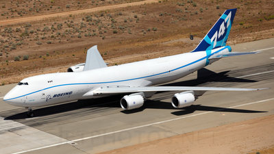 N747EX - Boeing 747-8R7F - Boeing Company